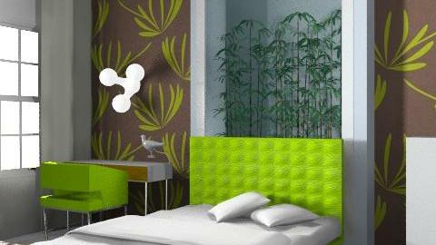 student's bedroom - Eclectic - Bedroom  - by ovchicha