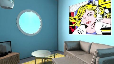 Kook Living Room 1 - Eclectic - by JenniferLewi