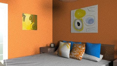 One LOVE - Bedroom - by brn2design