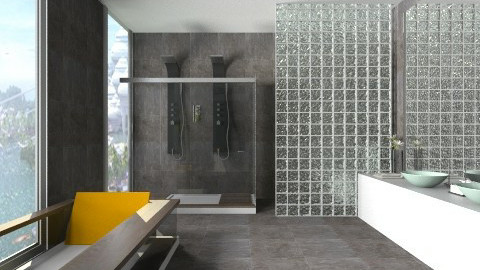 Lobo Branco Bathroom 2b - Bathroom  - by Natt Vasconcelos