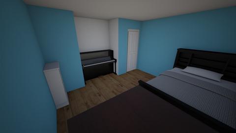 My IRL room - Bedroom  - by Karma Hitachinn
