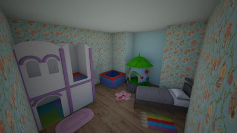 asdfghjk - Kids room  - by Lillian K