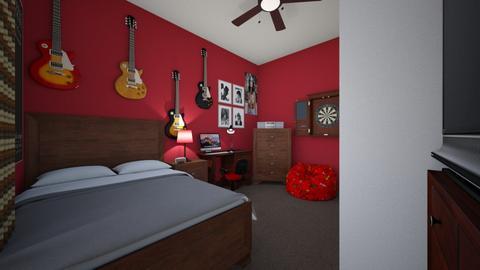 Teenage Bedroom 3 - Bedroom  - by SammyJPili