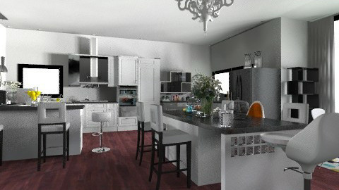 house - Eclectic - Kitchen  - by nataliaMSG