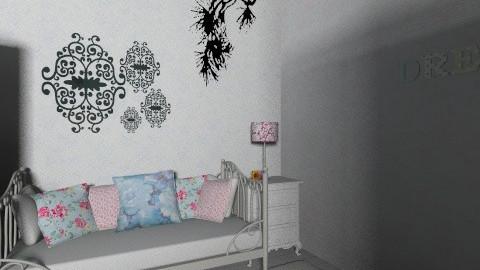 vintage - Bedroom - by aimeebrookes_