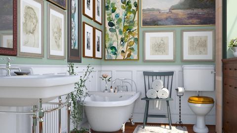 Fallingwater - Bathroom  - by rachaelp636