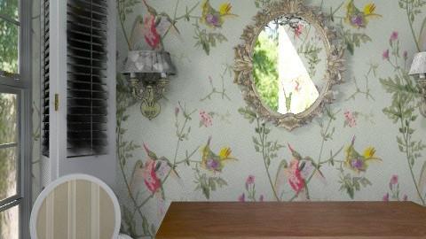 Vignette - bedroom desk - Glamour - Bedroom  - by mydeco Insider