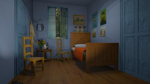Van Gogh Bedroom - by Valentinapenta