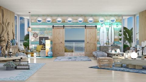 Beach Getaway - Living room  - by Feeny