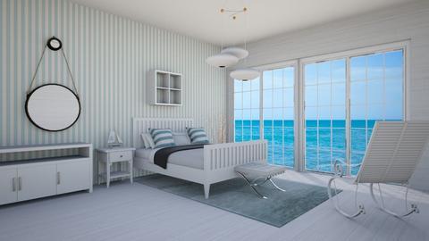 Coastal Room - Modern - Bedroom  - by michaelambrose1