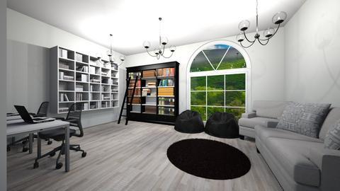 Library  - by evelina_nasco