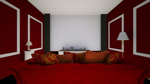 Cinema Home - Retro - by Hanane Haidoune