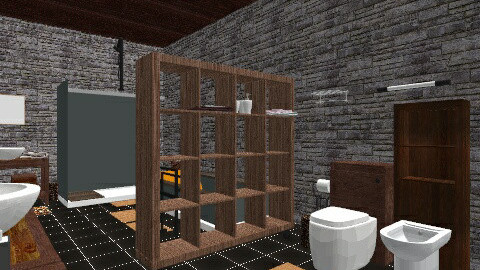 saladeban1 - Rustic - Bathroom  - by izarochaa