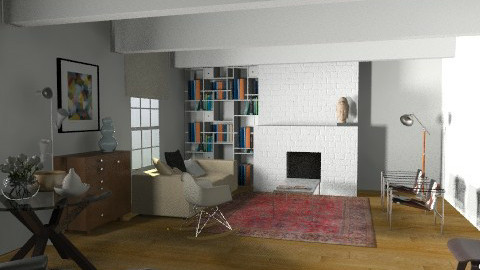 vintage - Retro - Living room  - by fre82