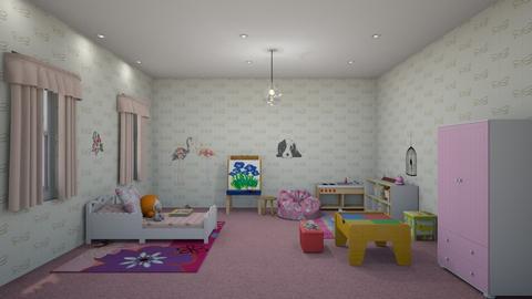 girls room - Kids room  - by steker2344
