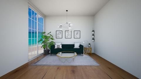 THINK GREEN - Living room  - by Blessing Home Designer