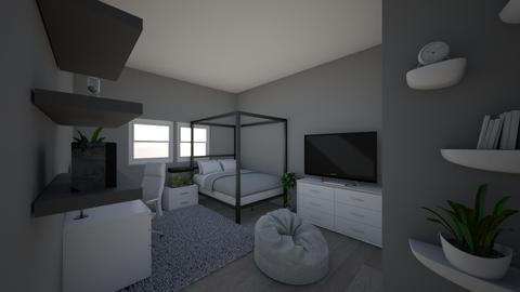 new new finallt my own ro - Minimal - Bedroom  - by angiebear561