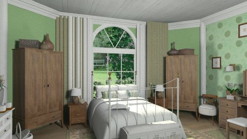 Green Dreams - Bedroom - by user_2734851
