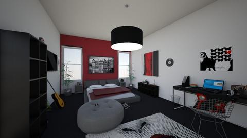 Dream Room - Modern - Bedroom - by holliecashh