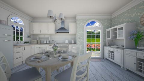 vintage kitchen - Kitchen  - by miadesign