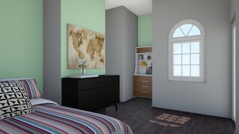 Cool Bedroom - Vintage - Bedroom  - by love Tully love