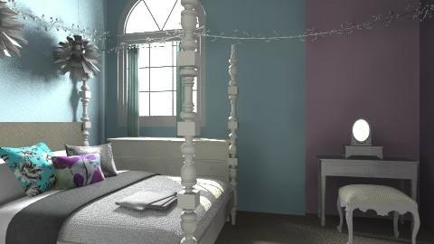 dreamy bedroom - Bedroom - by maggieh20