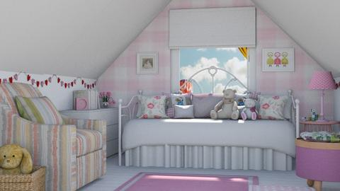 girly - Kids room  - by eymuuuch