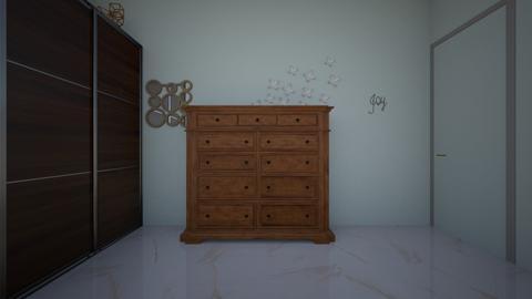 Nada AbuNadar bedroom - Bedroom - by nadaabunadar