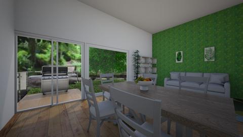 Green Room - Living room  - by theIrishdog