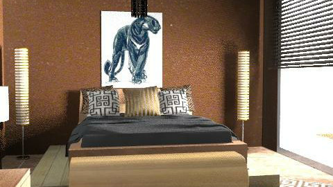 Africa - Eclectic - Bedroom  - by chania