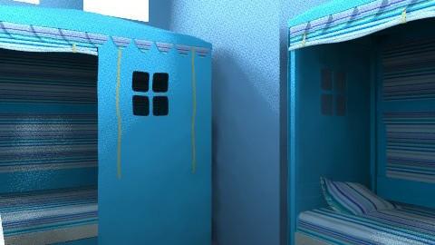 boy beach room - Rustic - Bedroom  - by goldengirllover