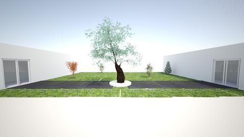 Render - Garden  - by Joshua Coy