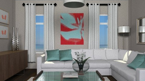 LR Comp. - Eclectic - Living room - by channing4