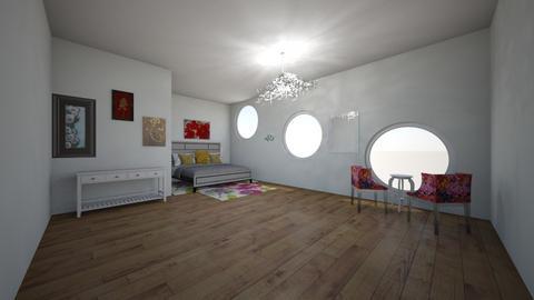 flower love - Bedroom  - by emivim