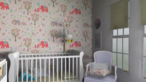 baba room <3 - Retro - Kids room  - by helloanna