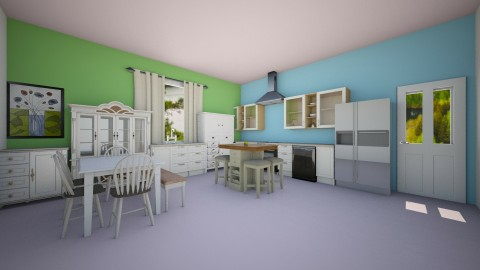 kitchen - by sweetswagger123