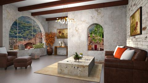 jan steen inspiration - Living room  - by rasty