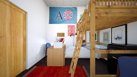 Dorm Room 5 - Bedroom  - by SammyJPili