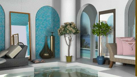 Bathhouse - Modern - Bathroom  - by milyca8