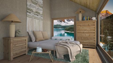 attic bedroom - Bedroom  - by daydreamer84