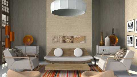 Balance - Eclectic - Living room  - by liling
