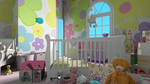 nursery - Kids room - by dijanamrvica