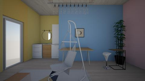 colorful room - Modern - by Elaine_the_bold