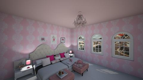 pinkobsessed - Feminine - Bedroom  - by emivim