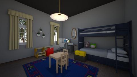 Kids room - Bedroom  - by OliverTheWizard