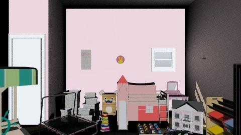 Young girls bedroom - Modern - Kids room  - by lottiexoxo