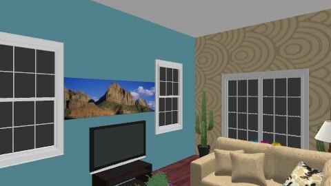 desert - Rustic - Living room  - by maghee