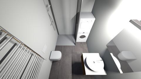 byt_rokycany_koupelna_men - Bathroom  - by Algalord