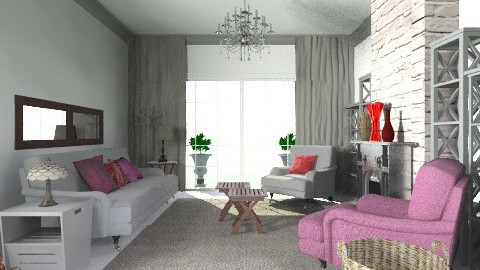Colour makeover 6 - Country - Living room - by toadfool