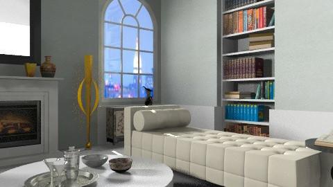 Art Deco - corner - Classic - Living room  - by johannaviola87